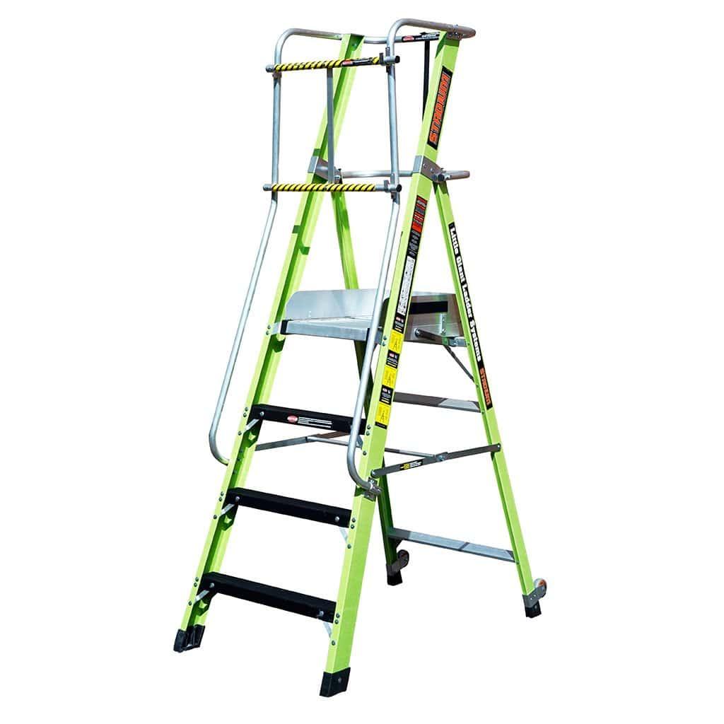 Little Giant Stadium ladder 4 step